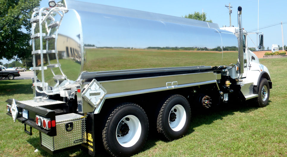 Amthor International Waste Oil Truck