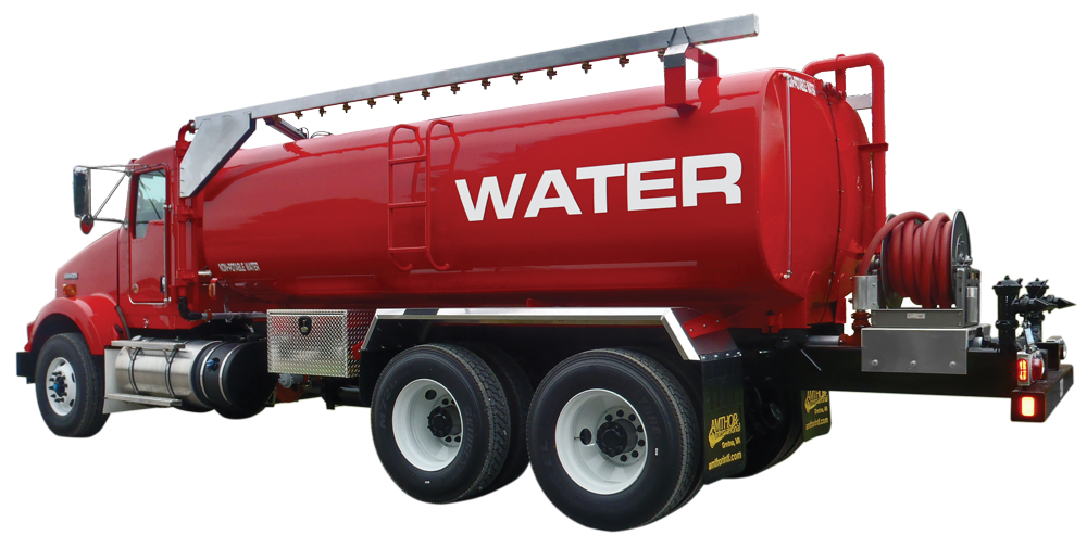 Water Tank Trailer >> Water Tankers | Water Truck | Water Tank Trucks | Amthor International