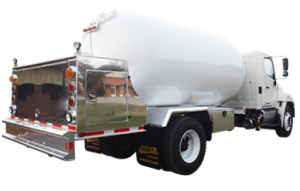 Amthor International Propane Combo Tank truck