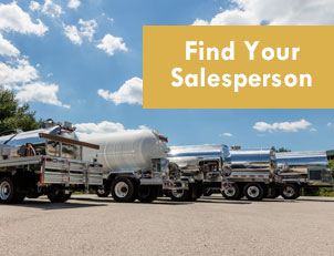 Find your salesperson based on your territory.