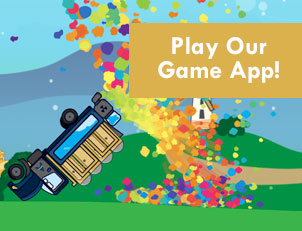 Play our new exciting game, Dump-n-Drive available on the app store.
