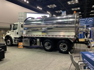 New 2018 Freightliner m2 with 4,000 Gallon Aluminum Vacuum Tank #20V005