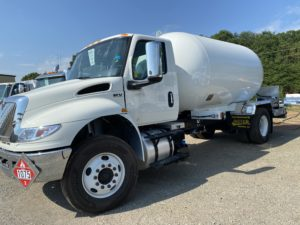 2020 International MV with 3499 WG Propane Bobtail #20P007