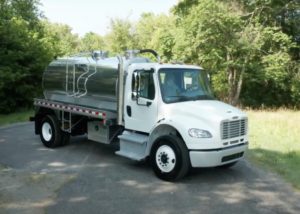 Freightliner M2 with 2500 Gallon Vacuum Tanker #19V015